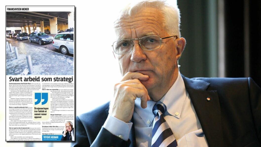 Trygve Hegnar og Finansavisen felt for brudd på god presseskikk etter at de angrepne parter i denne lederen ble nektet tilsvar.