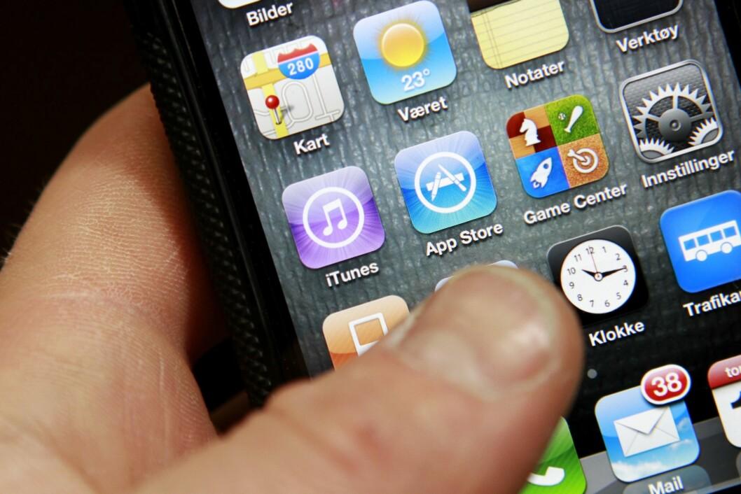 En ny måling fra Telenor viser at ti apper og nettjenester utgjør nær 60 prosent av all datatrafikk i selskapets mobilnett. Illustrasjonsfoto.
