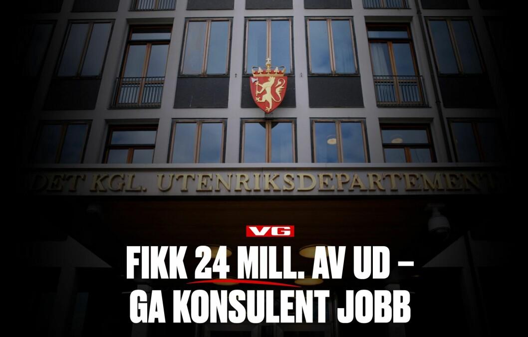 VGs nå frikjente omtale av UD-konsulenten som «byttet side».