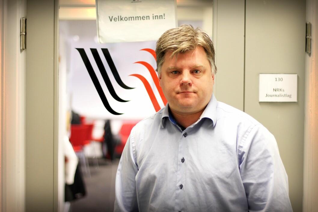 Richard Aune, leder for Norsk Journalistlag i NRK (NRKJ).