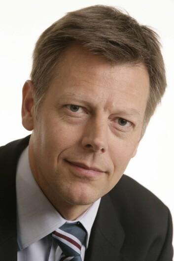 Direktør Olav T. Nyhus i NRK. Har ansvaret for juridiske spørsmål, rettigheter og personal.