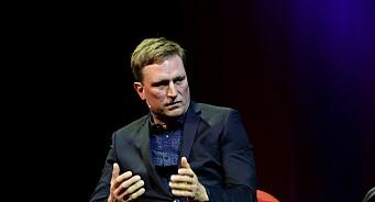 Drapsdømte Kjell Alrich Schumann snakket ut foran 500 journalister i Tønsberg