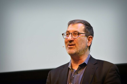 Sjefredaktør Stephen Engelberg i ProPublica under åpningen av SKUP i Tønsberg 31. mars 2017.
