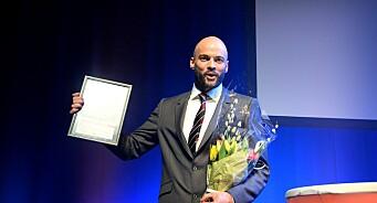Internasjonal Reporter-prisen til Anders Sømme Hammer. «Modig og standhaftig tilstedeværelse under særdeles vanskelige arbeidsforhold»