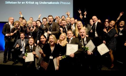 VG feirer storeslem på SKUP der de vant intet mindre enn tre diplomer og hovedprisen.