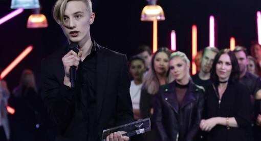 14-åringen Herman Dahl ble kåret til «Årets YouTuber» under Gullsnutten i helga