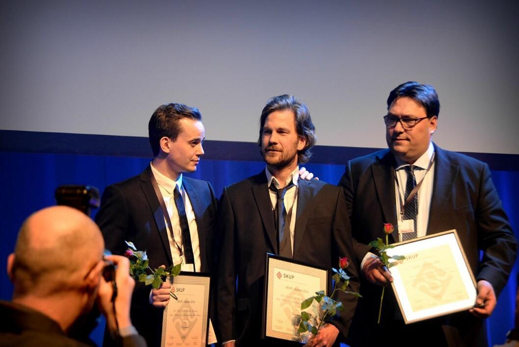 Dagbladet fikk SKUP-diplom for sak av Eiliv Frich Flydal, Halldor Hustadnes, Jonas Pettersen, Geir Ramnefjell og Arve Bartnes om kongehuset.