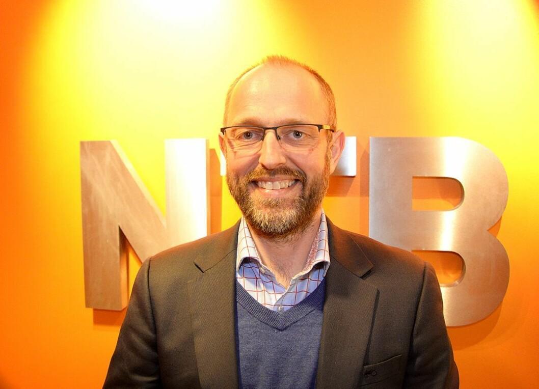 Ny publisher Mads Yngve Storvik i NTB.