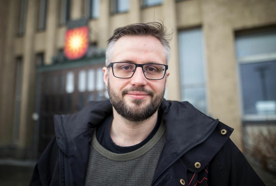 Alexander Ramberg er ansatt som webredaktør i Bodø kommune.