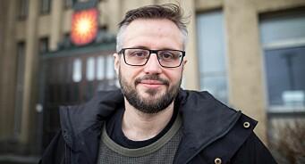 AN-journalist Aleksander Ramberg (36) er ansatt som webredaktør i Bodø kommune
