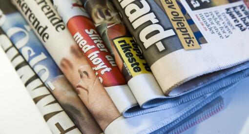 Papiravisene er i fritt fall, TV-tittingen er stabil og nettaviser og sosiale medier øker