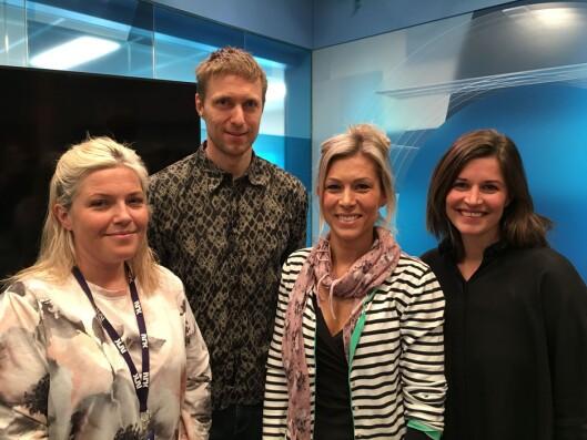 Våren 2017 omtalte vi gravegruppa i NRK Sør. Den bestod av Christina Førli Aas (f.v), Rune Christoffer Holm, Liv-Eva Welhaven Løchen og Veronica Westhrin.