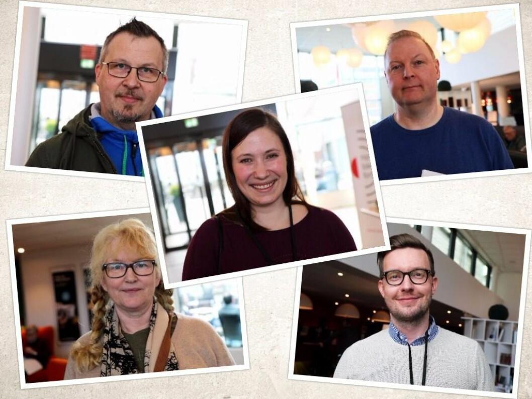 I helga arrangeres Norsk Lokalradioforbunds landkonferanse. Vi snakket med disse fem om radioens fremtid.