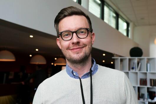 Egil Farstad i Radio Ålesund.