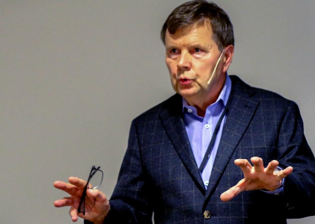 Svein Larsen, styreleder i Norsk Lokalradioforbund.