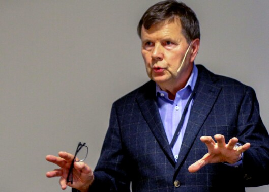 Svein Larsen, styreleder i Norsk Lokalradioforbund og sjef for Radio Metro.