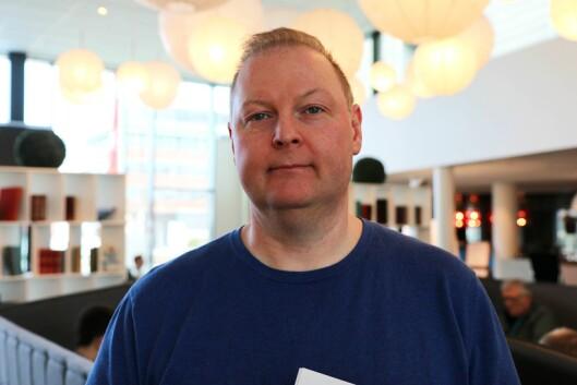 Ted Ivar Paulsen i Radio Bø.