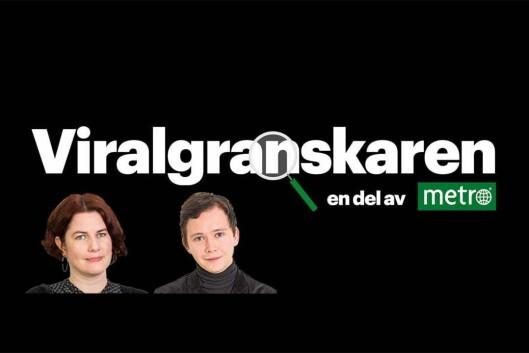 Logoen til den svenske Viralgranskaren.