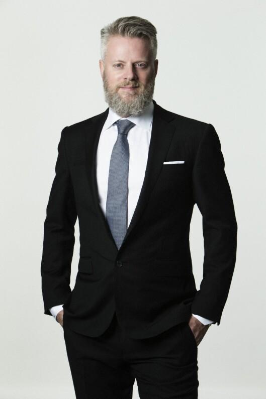 Sjefredaktør Staffan Erfors i Metro.