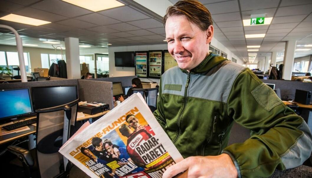 Stig Jakobsen er tidligere redaktør og direktør for iTromsø. Nå venter Nidaros i Trondheim.