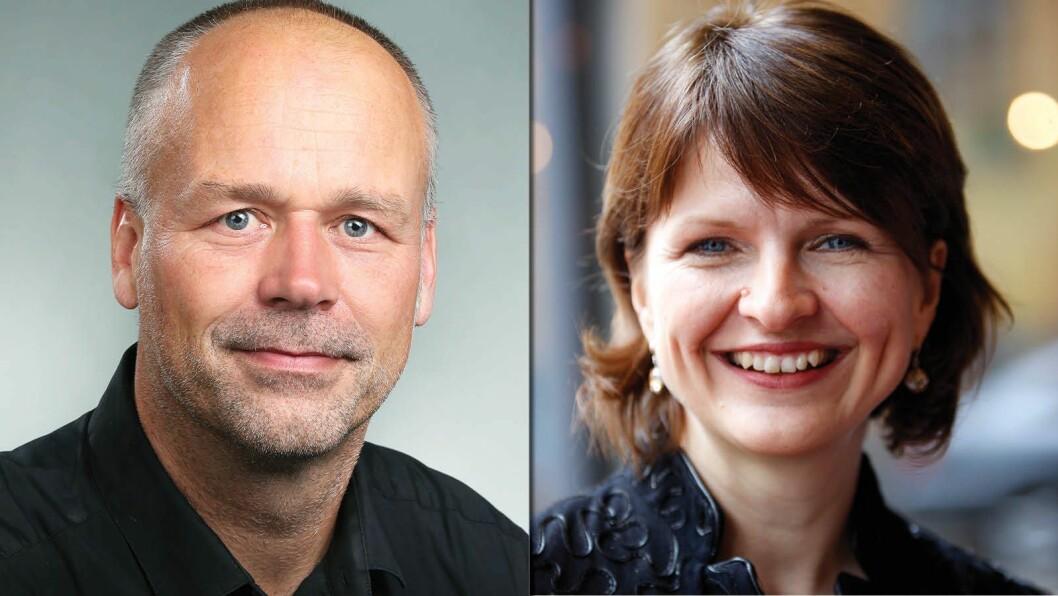 Blir en av disse to NRKs neste kulturredaktør? Marius Hoel er konstituert i jobben Nina Refseth har erfaring fra film, forlag og medier.