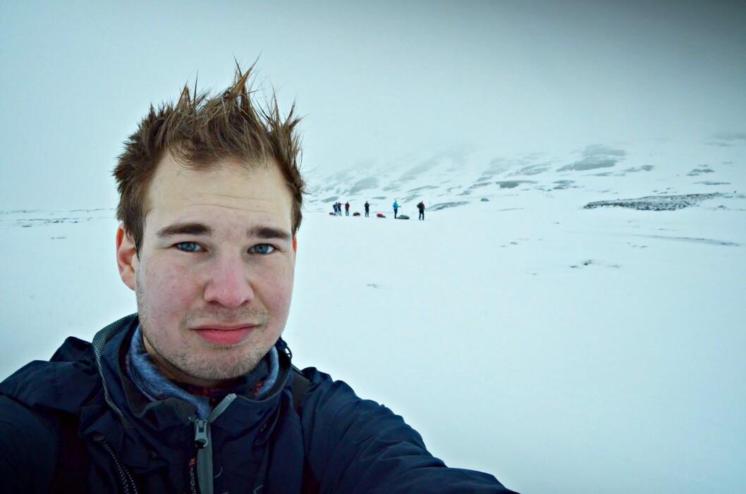 Redaktør Alexander Killingberg i Fosna-Folket.