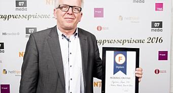 Ansvarlig redaktør Tor Eigil Stordahl i Forsvarets forum går av etter 25 år