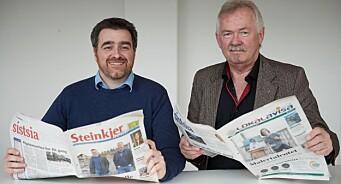 Nok en avisfusjon i Trøndelag: Steinkjer-Avisa og Lokalavisa Verran-Namdalseid slår seg sammen i sommer