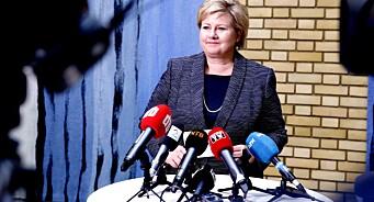 Helt feil, slår Faktisk fast etter Høyre-reklame om ledighet og økonomisk vekst. Nå skal partiet skrive ny tekst
