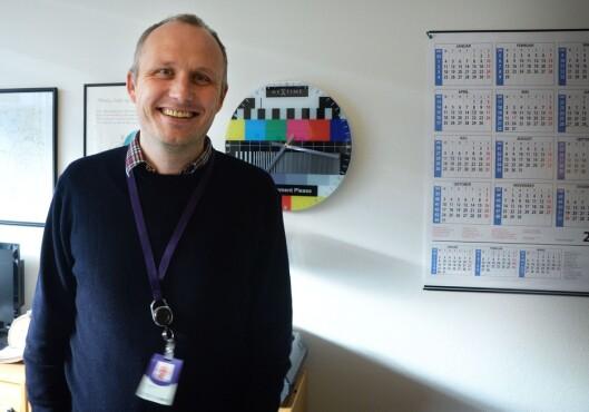 Programsjef Rune Møklebust i NRK Vest.