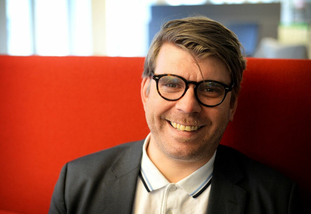 Sjefredaktør Sigvald Sveinbjørnsson i BA.