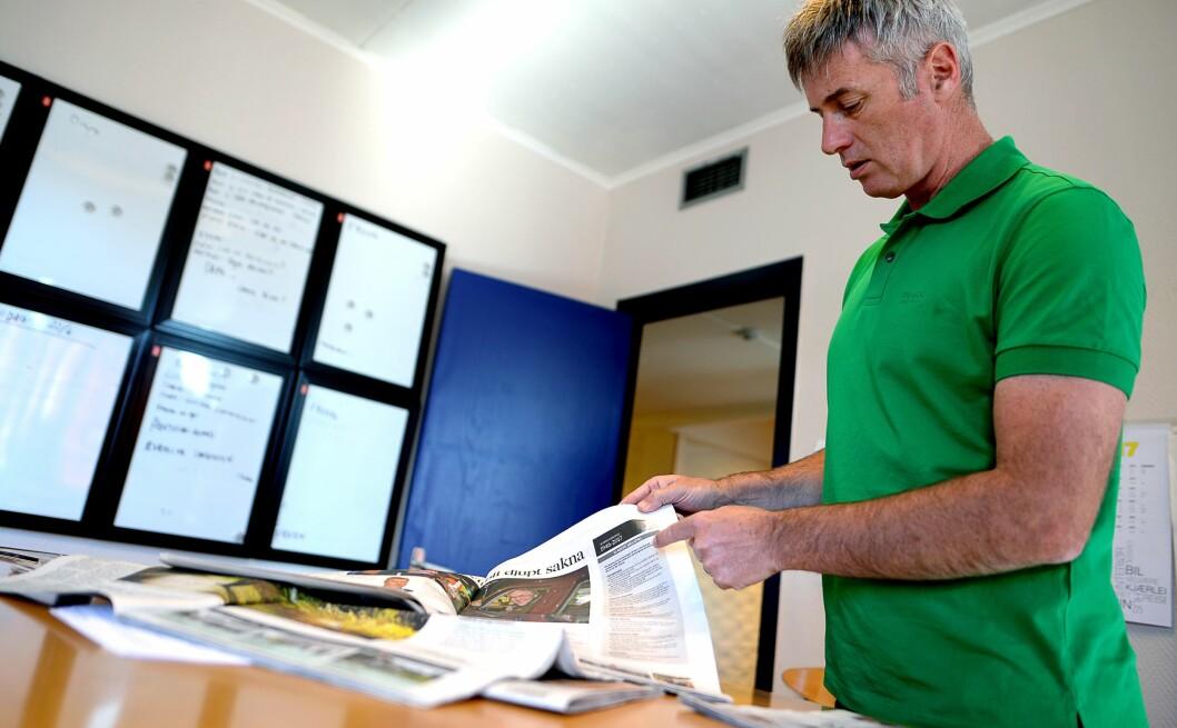 Magne Kydland har vært ansvarlig redaktør for Sunnhordland i snart ti år. Han er glad for muligheten til å lage bedre journalistikk og færre papiraviser.