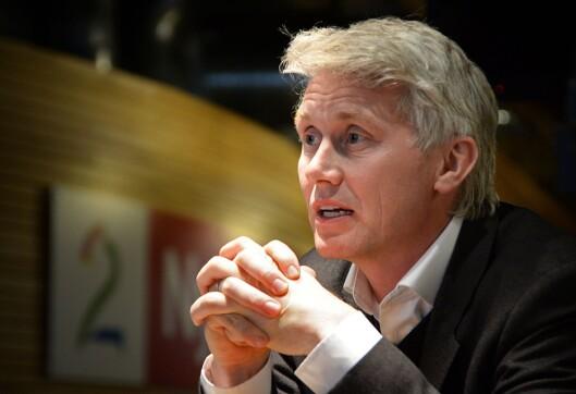 Sjefredaktør og direktør Olav Sandnes i TV 2.