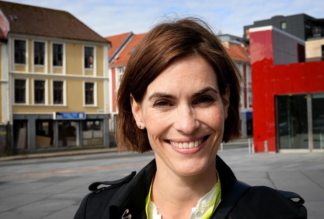 Distriktsredaktør Dyveke Buanes i NRK Hordaland.