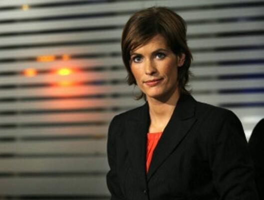 Dyveke Buanes fra tiden hun debuterte som anker på TV 2. Foto: TV 2.
