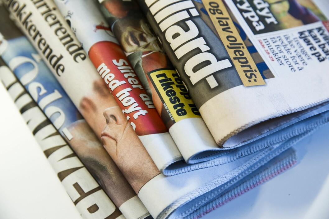 Papiret er nå den minste av tre plattformer for lesing av nyheter.