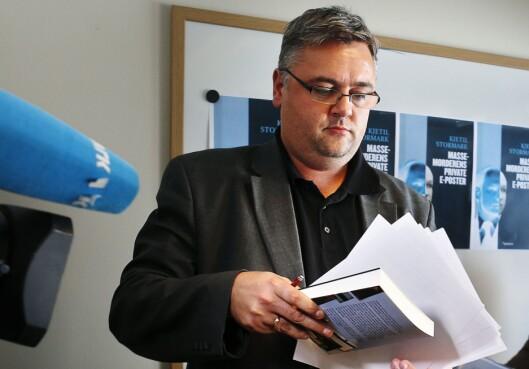 Forfatter, frilansjournalist og redaktør Kjetil Stormark.