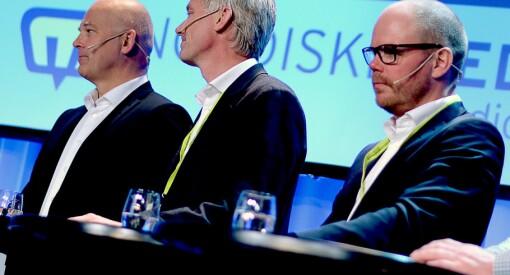 Gard Steiro spøkte med at VG kan starte bemanningsbyrå for NRK. «Dummeste jeg har hørt», svarer Thor Gjermund Eriksen