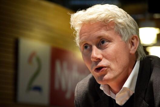 Sjefredaktør og administrerende direktør Olav T. Sandnes i TV 2