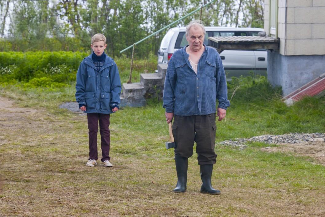 OSKARS AMERIKA: Odin Eikre i hovedrollen, her i samspill med Bjørn Sundquist.