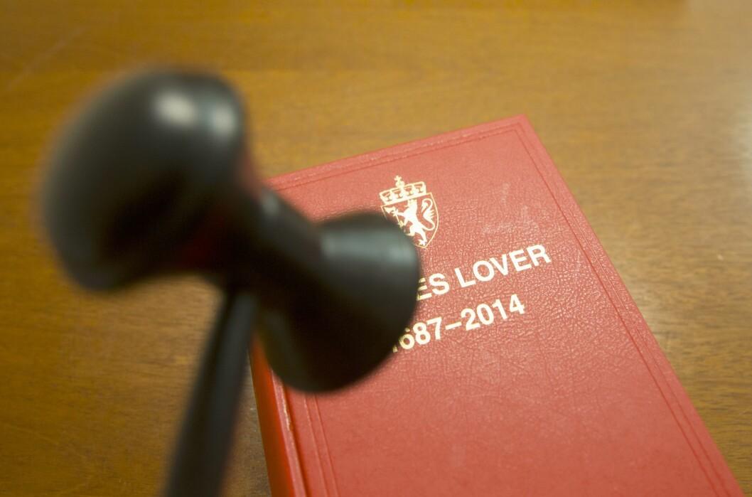 Illustrasjonsfoto: Norges lover.