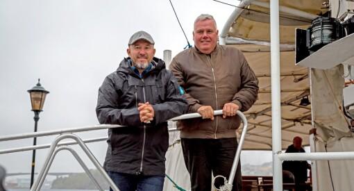NRK Møre og Romsdal med sakte-TV på vannet: Kjører skyssbåt rundt øygruppe på direkten