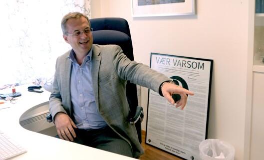 Per Brikt Olsen, administrerende direktør i Fagpressen.