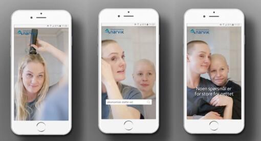 Mobil reklamefilm i høydeformat: Schjærven Pilot og Eika-gruppen får pris for «kjærlighetsforsikring»