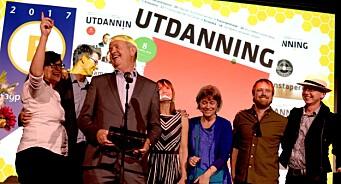 Utdanning er Årets fagblad 2017! De fikk også graveprisen, mens TU hentet hjem hele tre priser. Se alle vinnerne her