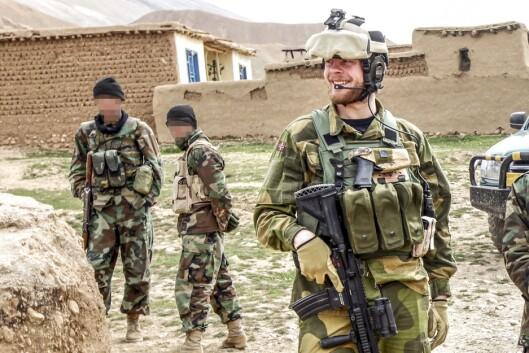 Lars Magne Hovtun i Afghanistan, tatt på oppdrag i Faryab-provinsen i Nord-Afghanistan, våren 2011.
