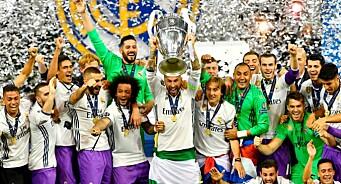 Real Madrid og Juventus sørget for solide tall: En halv million seere fikk med seg mesterligafinalen på Viasat 4