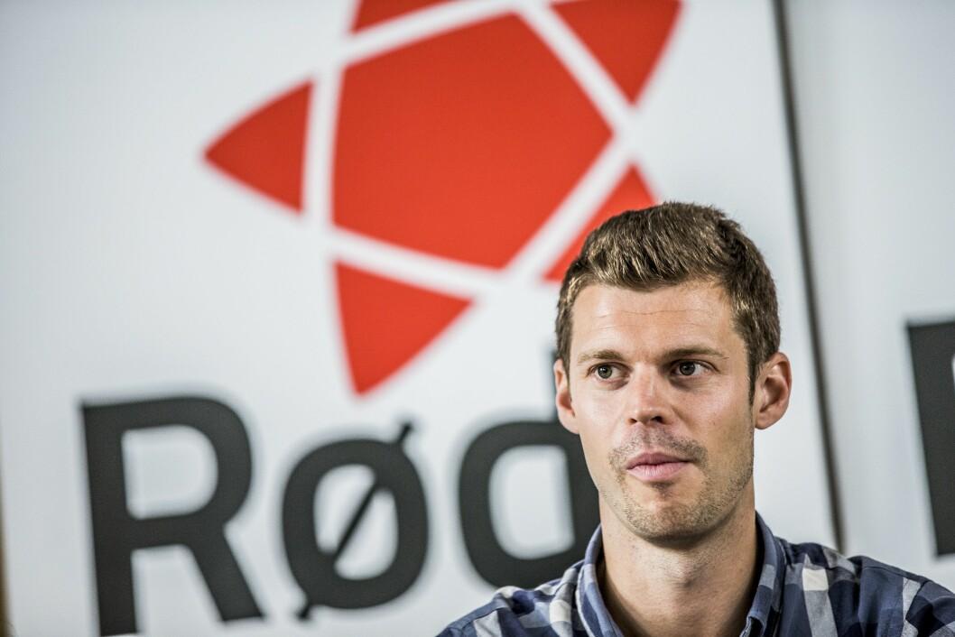 Partileder Bjørnar Moxnes i Rødt.