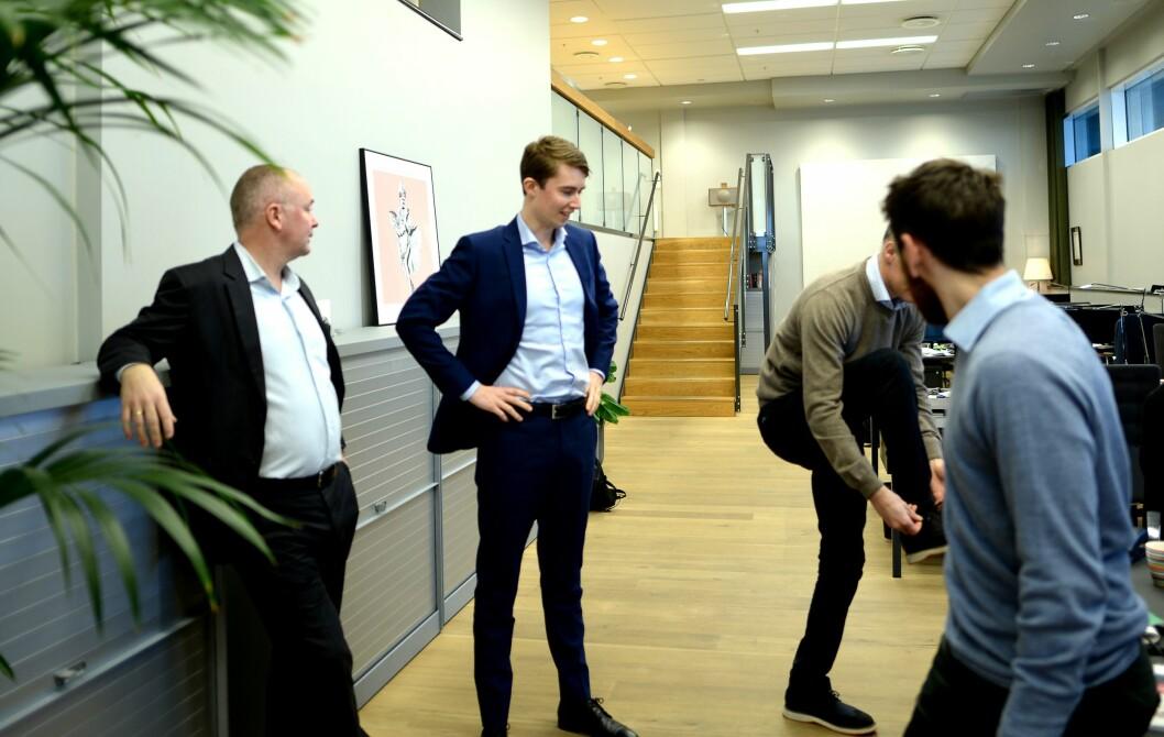 Det er høyt under taket hos Corporate Communications ytterst på Tjuvholmen. Nå strammer de skolissene for å løpe videre og vokse mer, men ikke for fort eller for en hver pris.