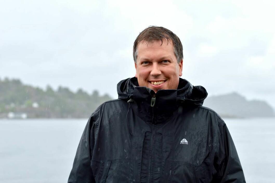 Øyvind Solstad, nå Head of Social Media i Hurtigruten.
